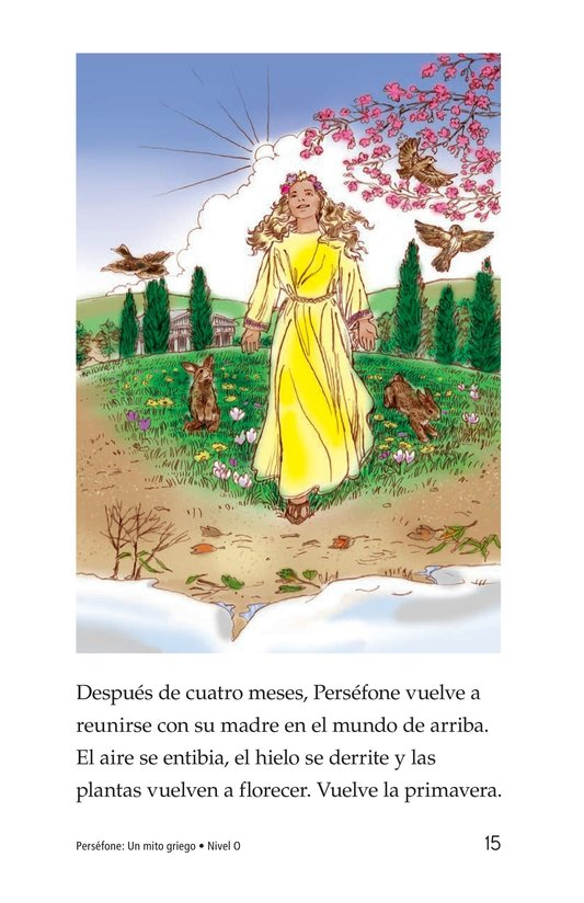 Book Preview For Persephone: A Greek Myth Page 15