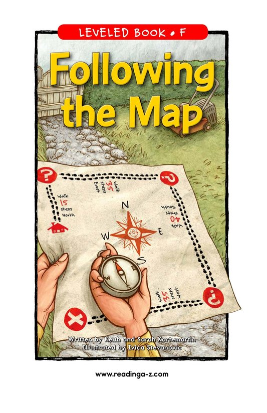 Book Preview For Following the Map Page 1