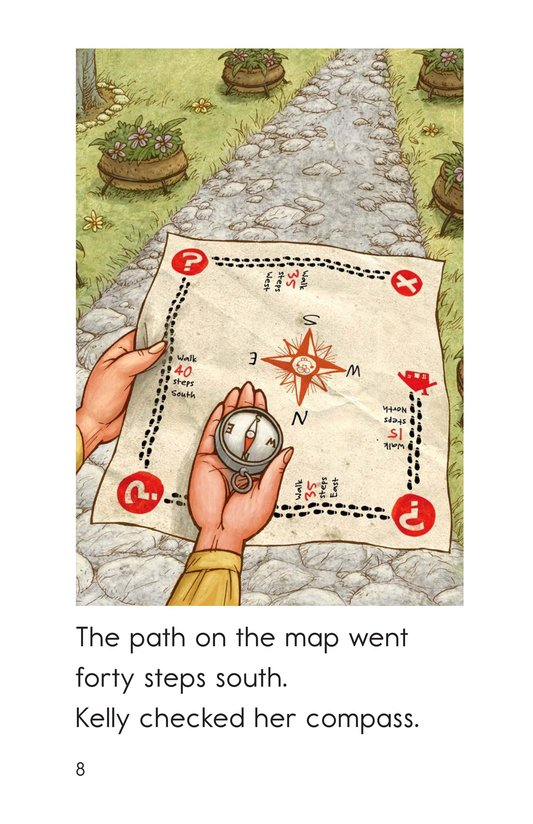 Book Preview For Following the Map Page 8