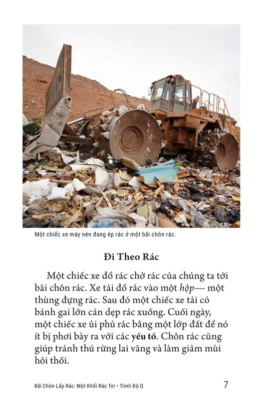 Book Preview For Landfills: What a Load of Garbage! Page 7