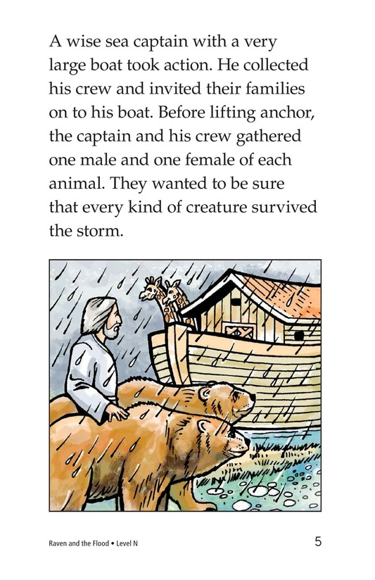 Book Preview For Raven and the Flood Page 5