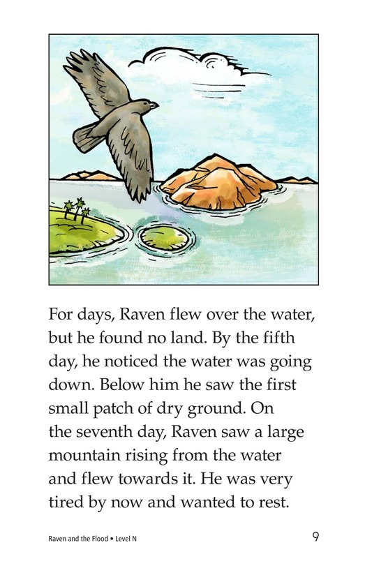 Book Preview For Raven and the Flood Page 9