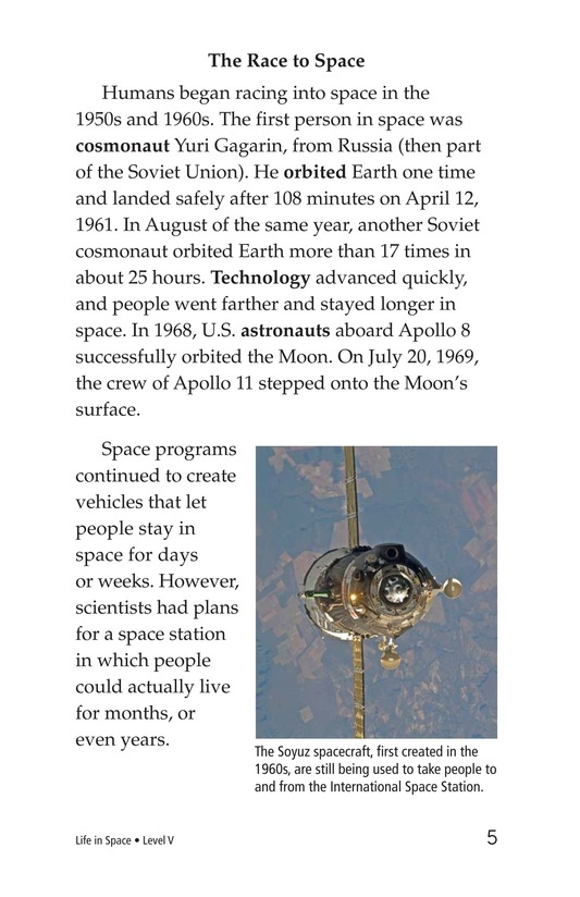 Book Preview For Life in Space Page 5