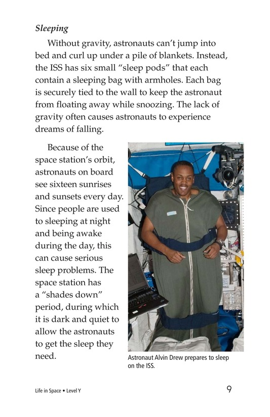 Book Preview For Life in Space Page 9