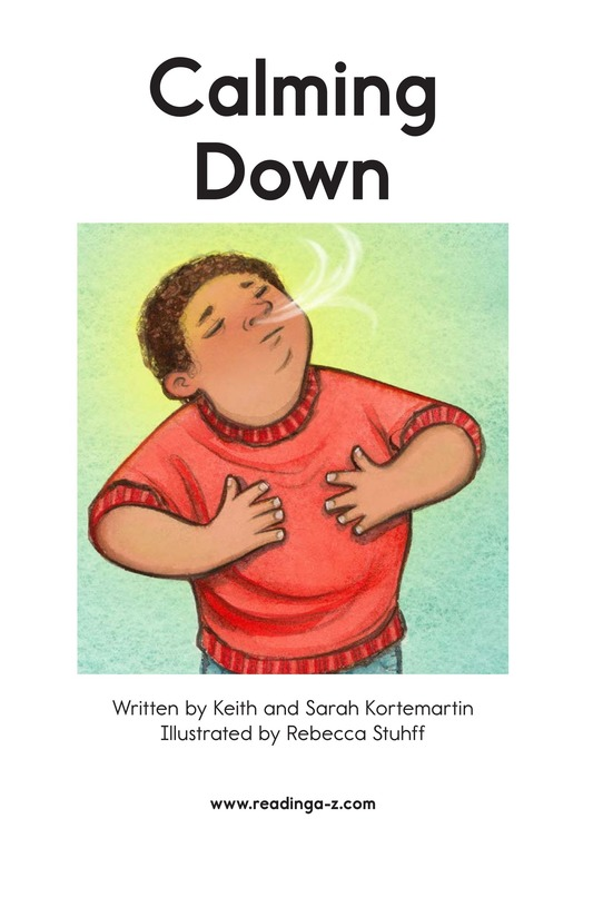 Book Preview For Calming Down Page 2