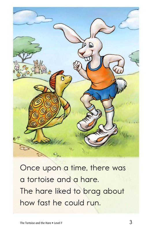 Book Preview For The Tortoise and the Hare Page 3