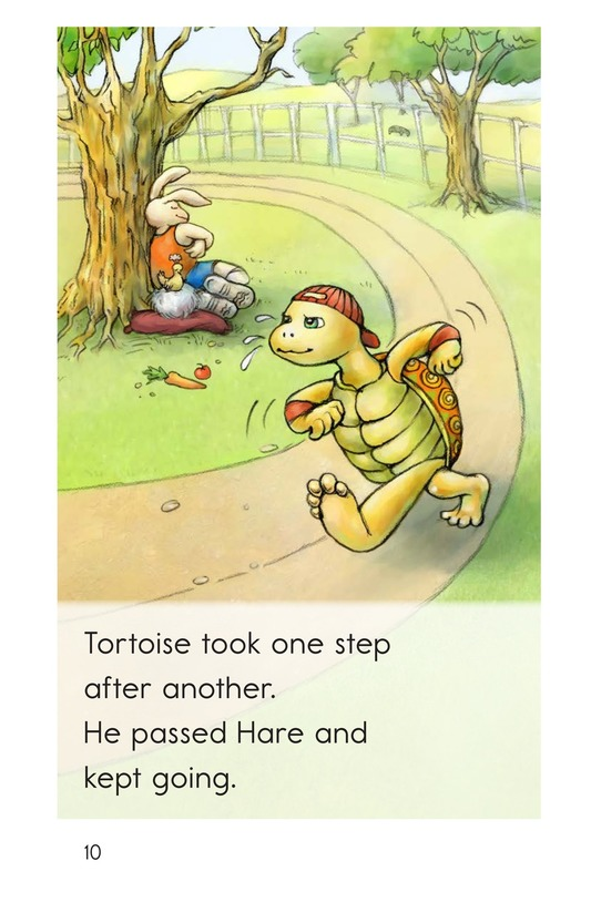 Book Preview For The Tortoise and the Hare Page 10