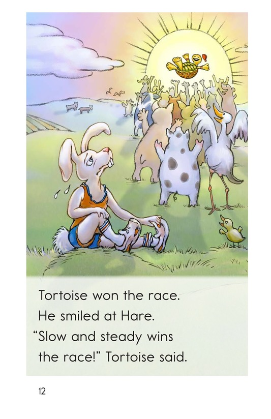 Book Preview For The Tortoise and the Hare Page 12