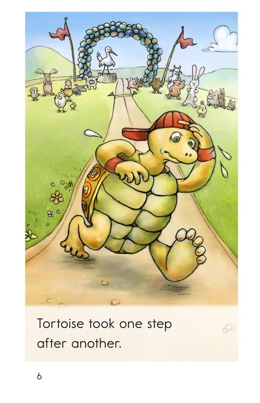 Book Preview For The Tortoise and the Hare Page 6