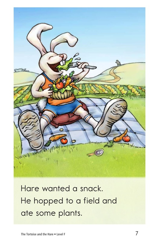 Book Preview For The Tortoise and the Hare Page 7