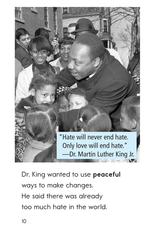 Book Preview For Dr. King's Memorial Page 10
