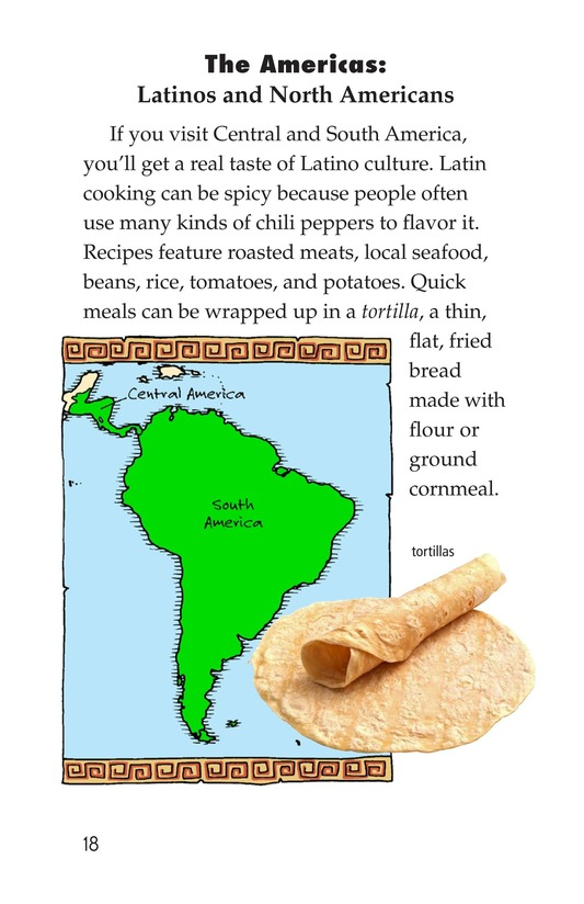 Book Preview For Foods Around the World Page 18