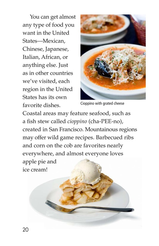 Book Preview For Foods Around the World Page 20