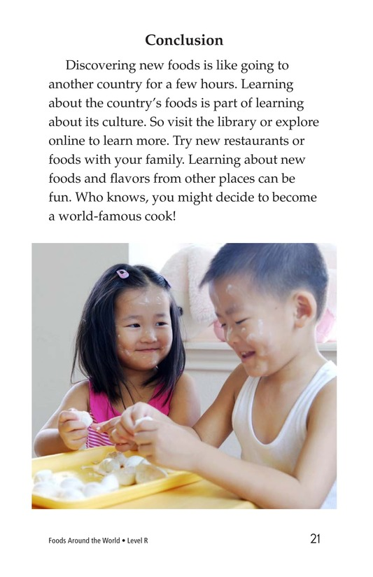 Book Preview For Foods Around the World Page 21