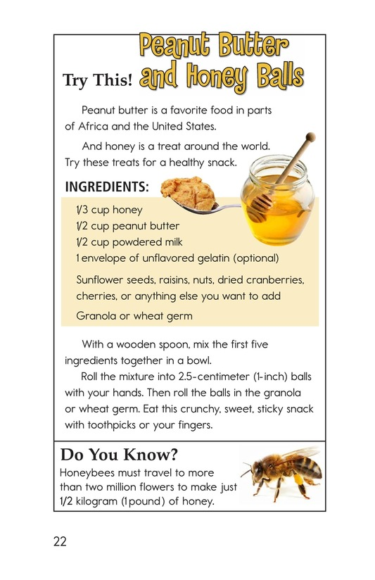 Book Preview For Foods Around the World Page 22