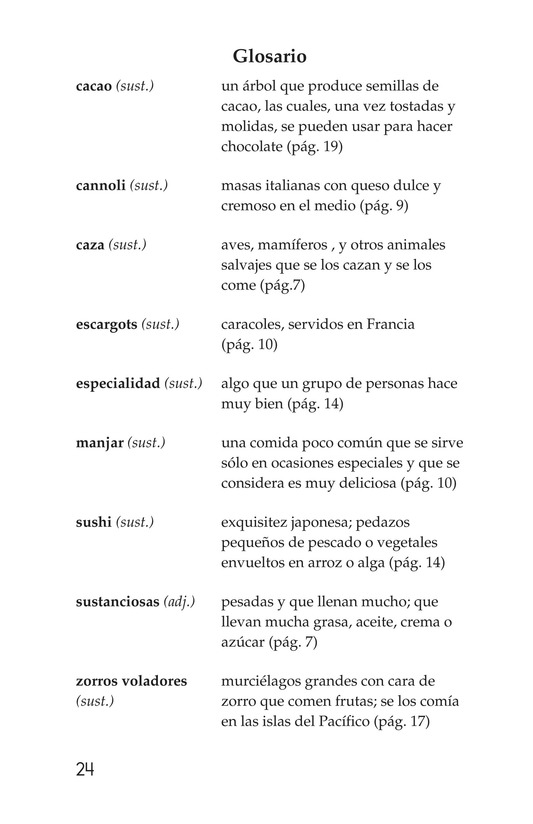Book Preview For Foods Around the World Page 24
