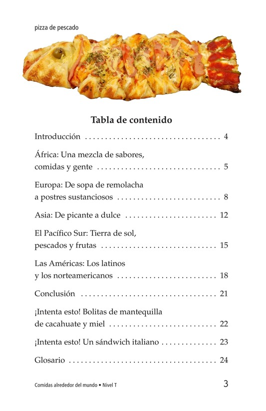 Book Preview For Foods Around the World Page 3