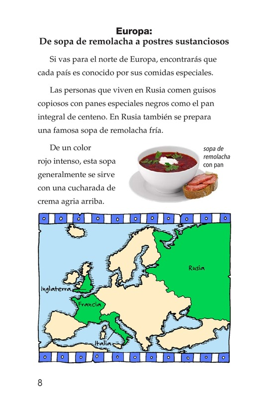 Book Preview For Foods Around the World Page 8