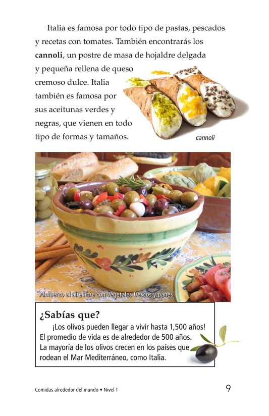 Book Preview For Foods Around the World Page 9