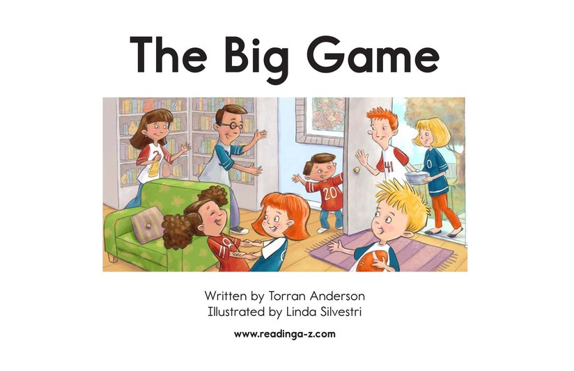 Book Preview For The Big Game Page 2