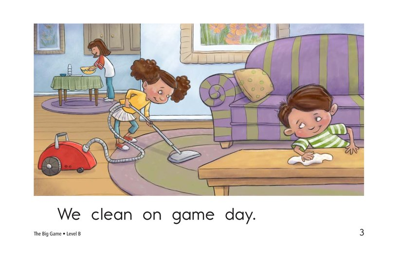Book Preview For The Big Game Page 3