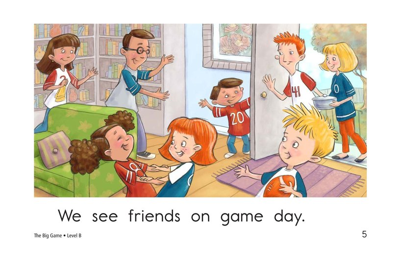 Book Preview For The Big Game Page 5