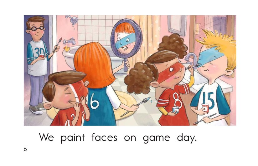 Book Preview For The Big Game Page 6