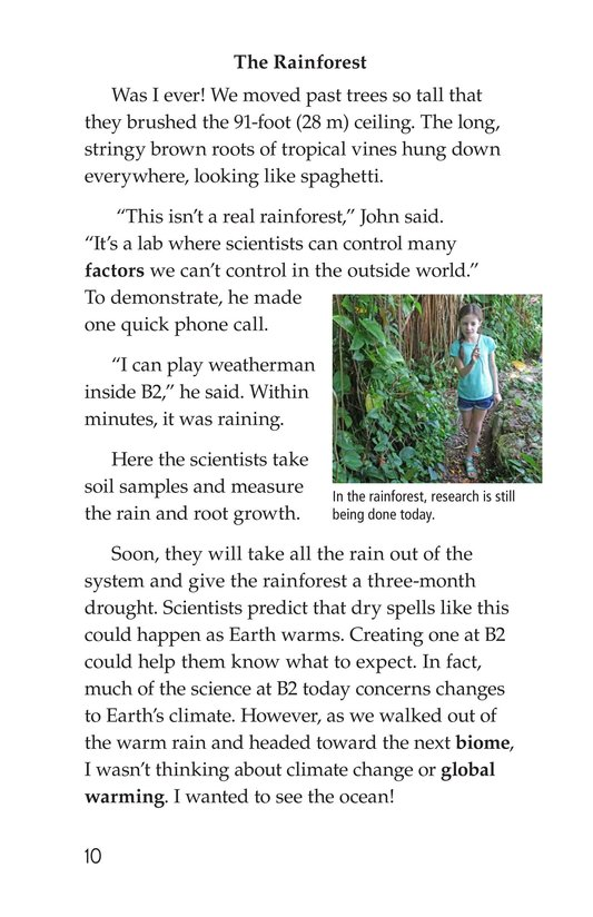 Book Preview For The University of Arizona College of Science Biosphere 2 Page 10