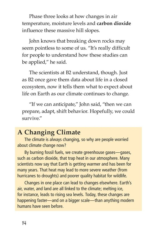 Book Preview For The University of Arizona College of Science Biosphere 2 Page 14