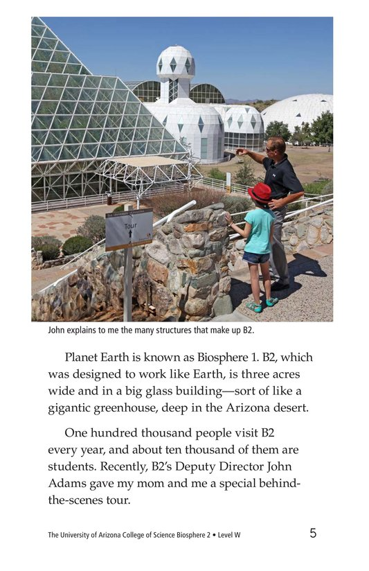 Book Preview For The University of Arizona College of Science Biosphere 2 Page 5