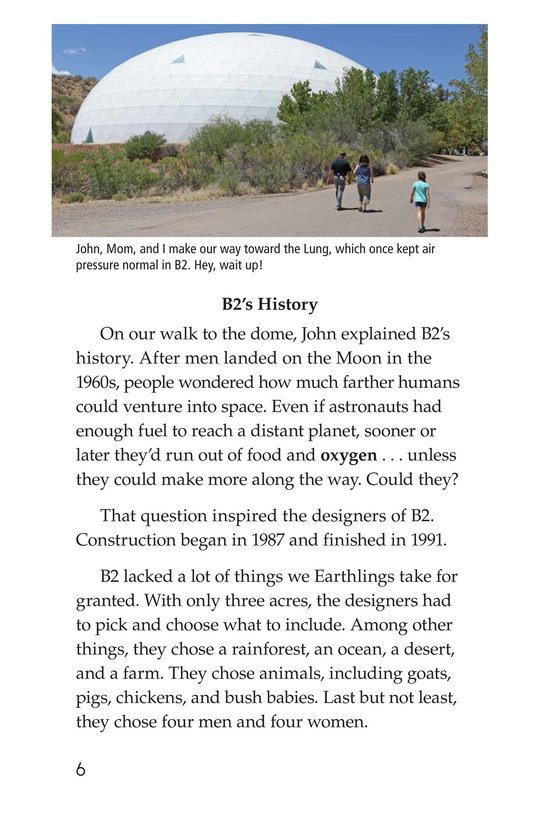 Book Preview For The University of Arizona College of Science Biosphere 2 Page 6