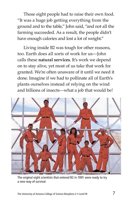 Book Preview For The University of Arizona College of Science Biosphere 2 Page 7