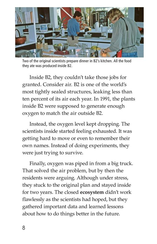 Book Preview For The University of Arizona College of Science Biosphere 2 Page 8