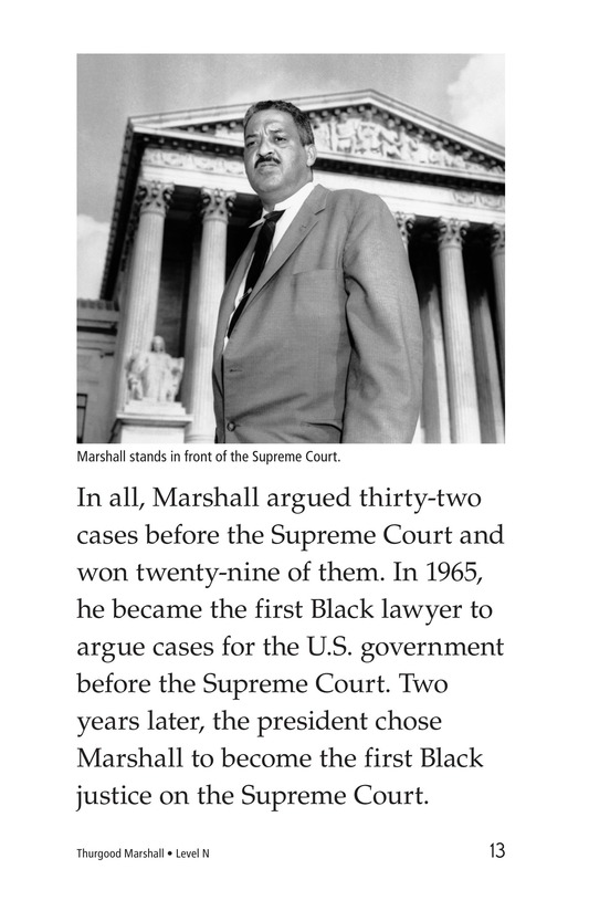 Book Preview For Thurgood Marshall Page 13