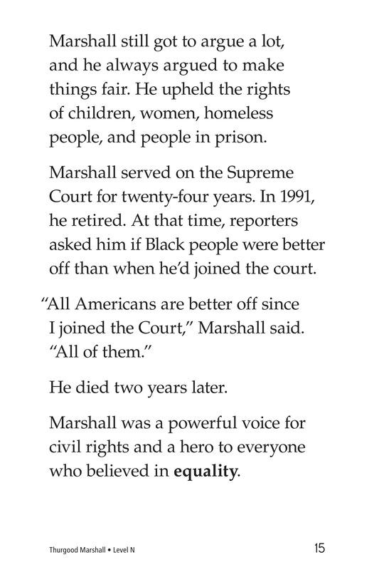 Book Preview For Thurgood Marshall Page 15