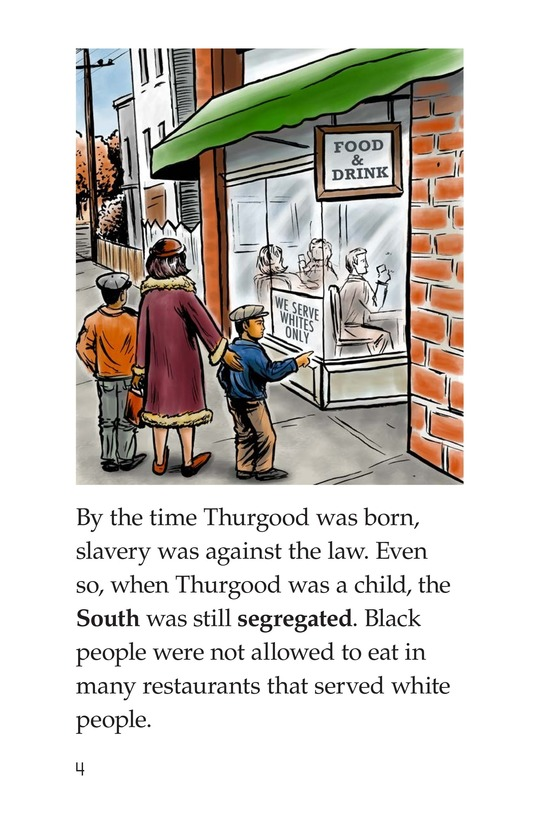 Book Preview For Thurgood Marshall Page 4