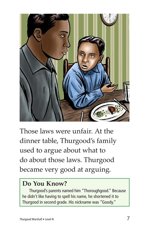 Book Preview For Thurgood Marshall Page 7
