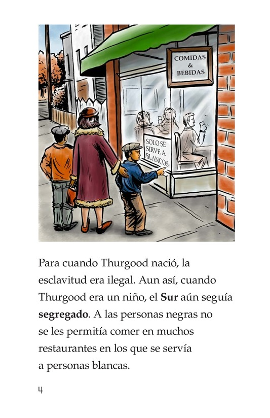 Book Preview For Good for Thurgood! Page 4