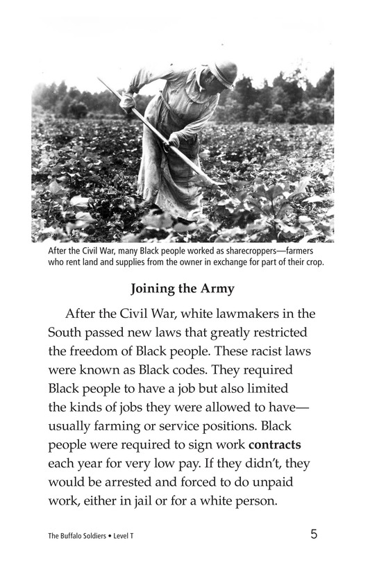 Book Preview For The Buffalo Soldiers Page 5