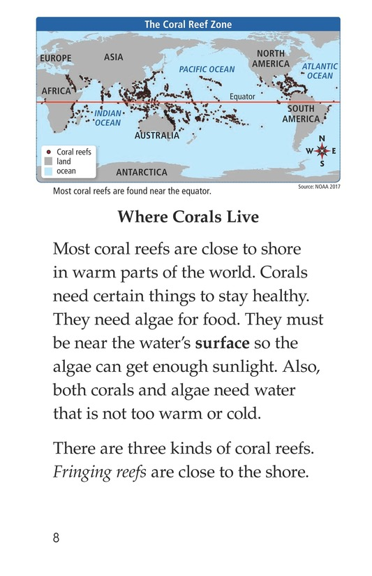 Book Preview For Coral Reefs Page 8