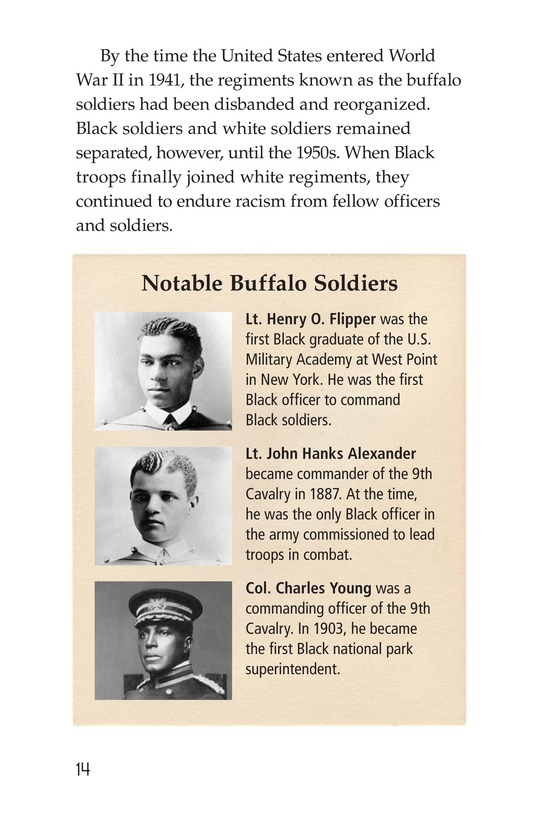 Book Preview For The Buffalo Soldiers Page 14
