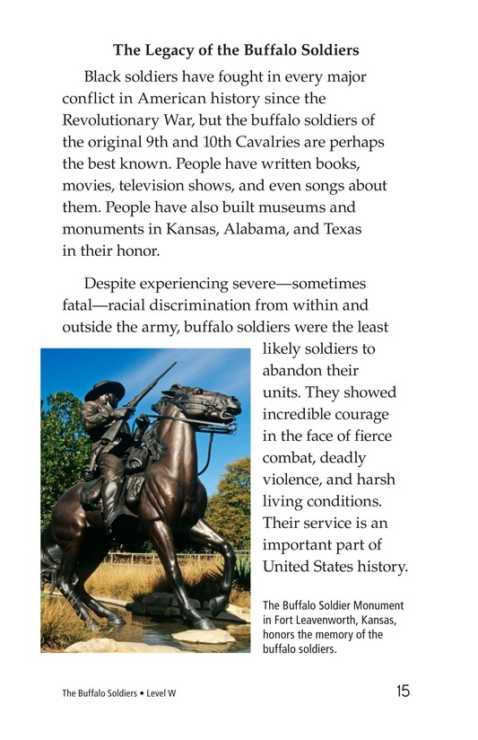 Book Preview For The Buffalo Soldiers Page 15