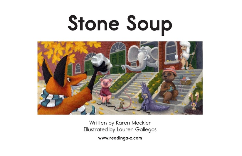 Book Preview For Stone Soup Page 2