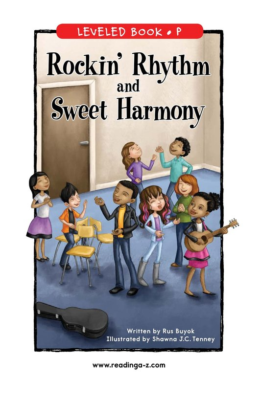 Book Preview For Rockin' Rhythm and Sweet Harmony Page 1