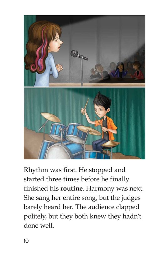Book Preview For Rockin' Rhythm and Sweet Harmony Page 10