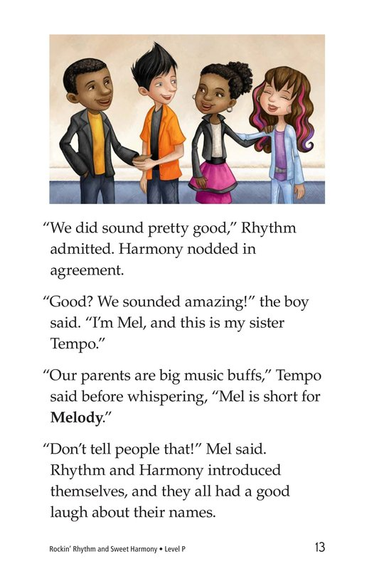 Book Preview For Rockin' Rhythm and Sweet Harmony Page 13