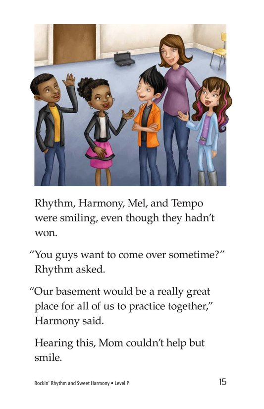 Book Preview For Rockin' Rhythm and Sweet Harmony Page 15