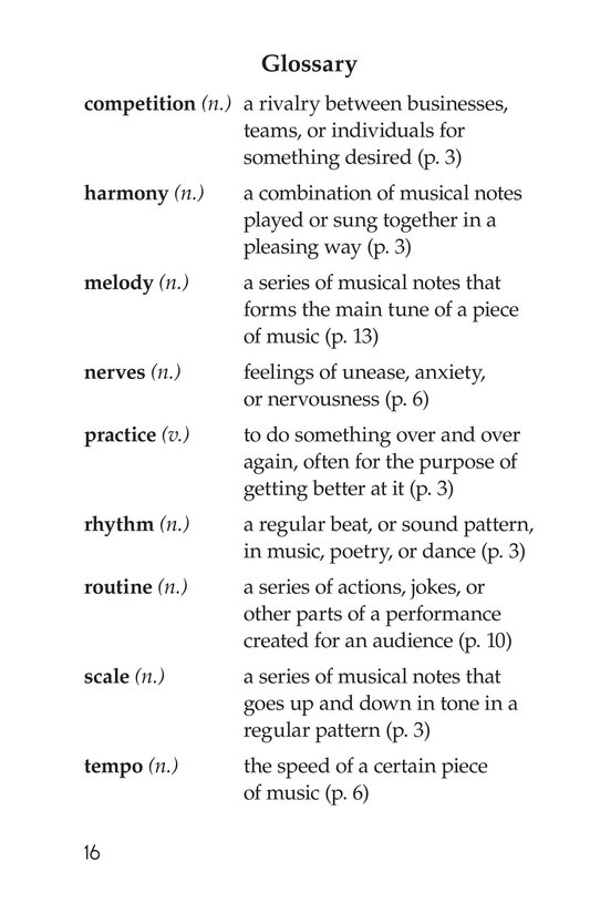 Book Preview For Rockin' Rhythm and Sweet Harmony Page 16