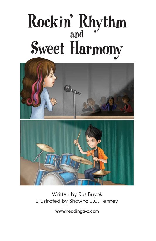Book Preview For Rockin' Rhythm and Sweet Harmony Page 2