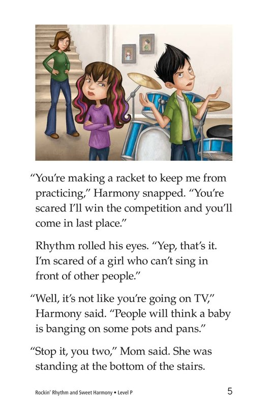 Book Preview For Rockin' Rhythm and Sweet Harmony Page 5